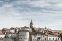 Croatia, Korcula, view to the old town  during daytime — Stock Photo