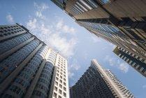 Stati Uniti d'America, grattacieli di California, San Francisco, contro il cielo — Foto stock
