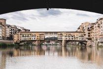 Italy, Tuscany, Florence, Ponte Vecchio at daytime — Stock Photo