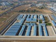 Spain, Mallorca, Palma de Mallorca, Aerial view of prison during daytime — Stock Photo