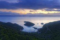 Croazia, Dalmazia, Neretva, Porto di Prozurska Luka — Foto stock