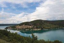 France, Alpes-de-Haute-Provence, Bauduen at Lac de Sainte-Croix — Fotografia de Stock