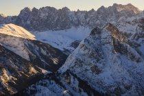 Австрия, Тироль, гор Карвендель в зимний период — стоковое фото