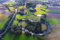 Germany, Bavaria, Hebertshausen, Amoer river and oxbow lake — Stock Photo