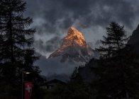 Suisse, vue du Cervin — Photo de stock