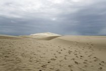 France, Dune of Pilat, tallest sand dune in Europe — Stock Photo