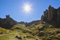 Peru, Cajamarca, Cumbe Mayo Archaelogical Complex — Stock Photo