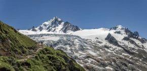 Франция, Шамони, альпинистов на Le Tour в дневное время — стоковое фото