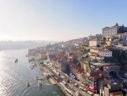 Vue sur Porto, fleuve Douro — Photo de stock