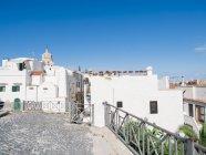 Italy, Apulia, Gargano, Vieste, white houses — Stock Photo