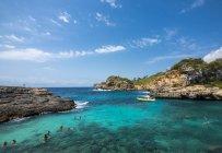 Spanien, Balearen, Mallorca, Santanyi, Blick auf die Küste von Cala s 'amonia — Stockfoto