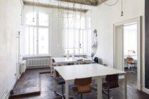 Interior de uma sala vazia em um escritório moderno — Fotografia de Stock