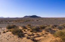 Afrique, Namibie, Hardap, Montagne dans la réserve naturelle de Kulala dans le désert de Namib — Photo de stock