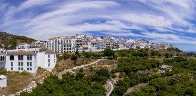 Іспанії, в Андалусії, на узбережжі Коста-дель-Соль, подання Frigiliana — стокове фото