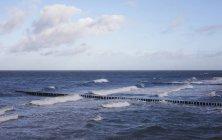 Deutschland, Mecklenburg-Vorpommern, Ostsee in der Nähe von Zingst im November — Stockfoto