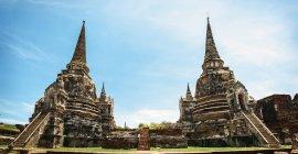 Таїланд, Nakhon Phra Si Аюттхая, Wat Phra Si Sanphet — стокове фото