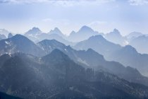 View of Ammergau Alps  during dayitme — Stock Photo