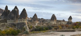 Turkey, Cappadocia, Goereme National Park, rock formations — Stock Photo