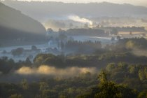 View of Ettenau in morning at Upper Austria — Stock Photo