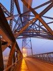 Luiz I Bridge and Douro river — Stock Photo