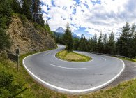 Autriche, Tyrol, montagne passez à Norbertshoehe — Photo de stock