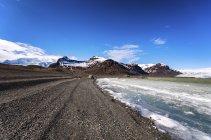South Iceland, Vatnajoekull National Park, Breidarlon Lagoon, Glacier  during daytime — Stock Photo