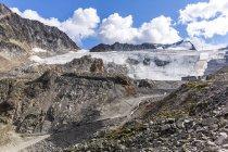 Autriche, Tyrol, vallée de l'Oetz, Soelden, glacier Rettenbachferner — Photo de stock