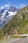 Італія, Південний Тіроль, Мерано, гірський перевал Тіммельсйох — стокове фото