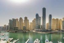 Emirati Arabi Uniti, Dubai, vista su Dubai Marina — Foto stock