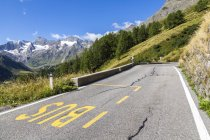 Italie, Tyrol du Sud, la vallée Passeier, col Timmelsjoch — Photo de stock