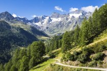 Italy, South Tyrol, Passeier Valley, mountain pass Timmelsjoch — Stock Photo