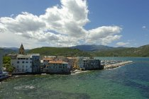 Corsica, Haute-Corse, Old town and harbour of Saint Florent  during daytime — Stock Photo