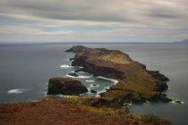 Côte Atlantique rocheuse du Portugal, Madère, — Photo de stock