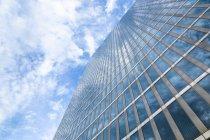 Blick auf die Fassade der Highlighttürme bei Tag, München, Deutschland — Stockfoto