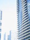 USA, illinois, Chicago, Hochhaus, Fassaden, Aqua Tower rechts — Stockfoto