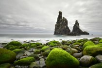 Portogallo, Madera, Costa rocciosa, Formazioni rocciose — Foto stock