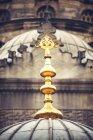 Türkei, Istanbul, neue Moschee, goldene Ornamente — Stockfoto