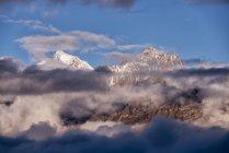 Nepal, Annapurna, Muktinath, Nilgiri Himal during daytime — Stock Photo