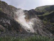 Taiwan, taipeh, aktiver Vulkan tagsüber — Stockfoto