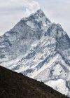 Nepal, Himalaya, Solo Khumbu, Ama Dablam during daytime — Stock Photo