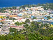 Карибские острова, Ямайка, вид на Очо-Риос в дневное время — стоковое фото