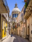 Italy, Sicily, Ragusa, cathedral San Giovanni — Stock Photo