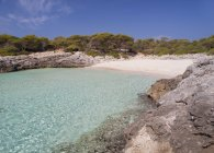 Spagna, Minorca, Veduta di Cala Talaier — Foto stock