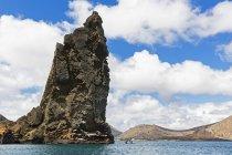 Ecuador, Islas Galápagos, Bartolomé, Pinnacle Rock - foto de stock