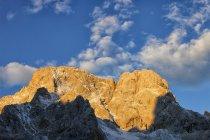 Spain, Sunset at National Park Picos de Europa — Stock Photo