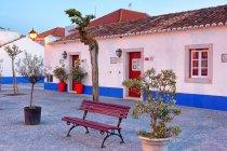Portugal, Alentejo, Sines, Porto Covo , view of colonial style house — Stock Photo