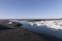 Iceland, Joekulsarlon, glacier lake  during daytime — Stock Photo
