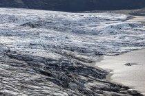 Lago glaciar de Islândia, sul da Islândia, no Parque Nacional Skaftafell — Fotografia de Stock