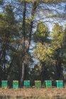 Grèce, ruches verts, arbres en arrière-plan — Photo de stock