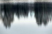 Blick auf die Wasserspiegelung auf einem See — Stockfoto